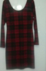 Forever 21 Dresses - Bodycon plaid dress